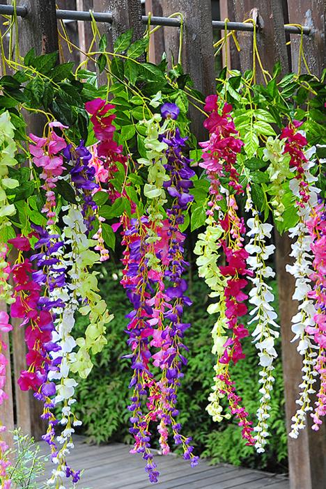幼儿园吊花装饰图片