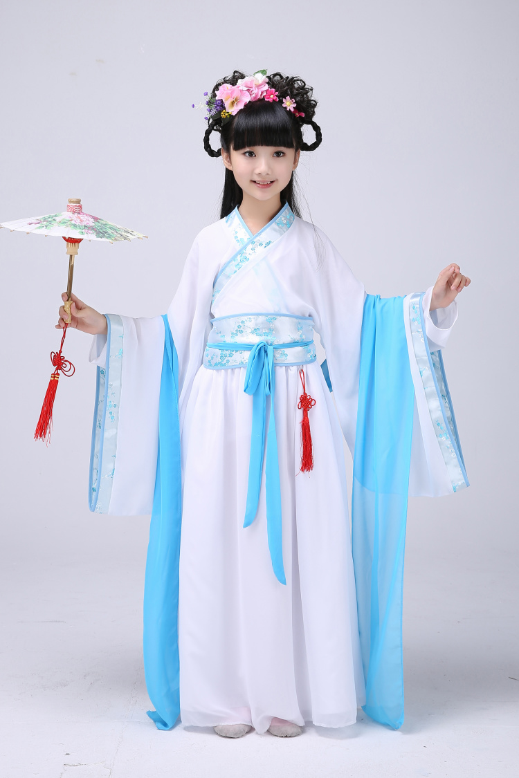 儿童汉服襦裙公主裙皇后影楼写真服饰
