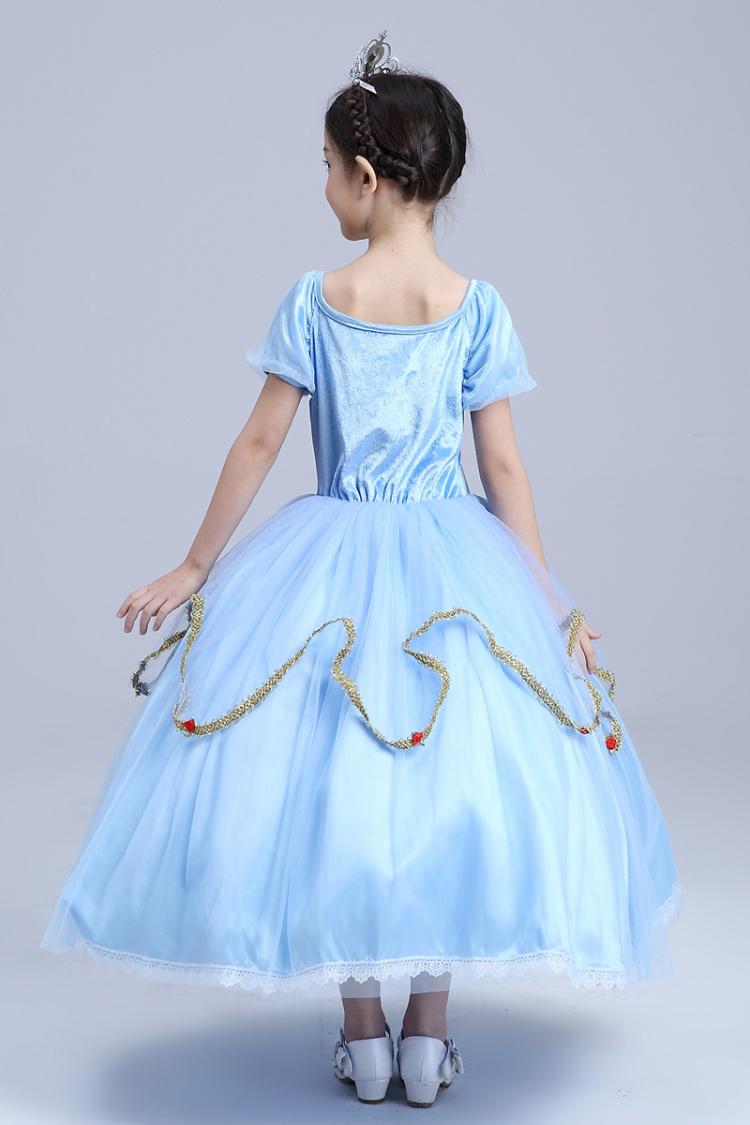 蘇菲亞公主裙簡筆畫分享展示