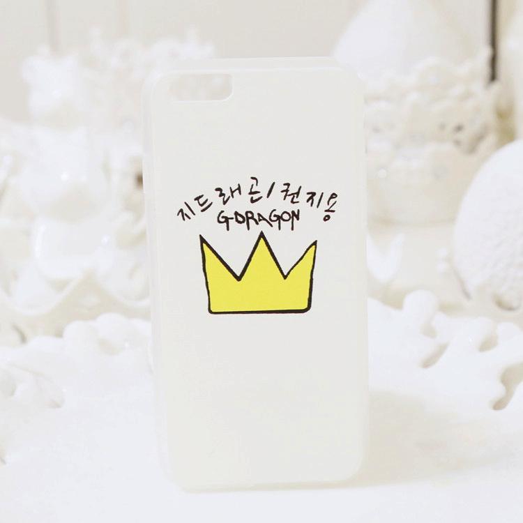 【权志龙皇冠星星手机壳】-配饰-3c数码配件
