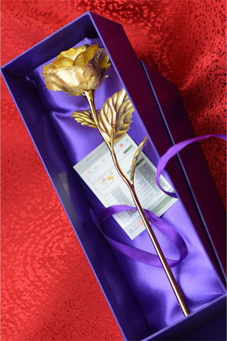 金玫瑰,礼物,闺蜜,生日礼物,送女友
