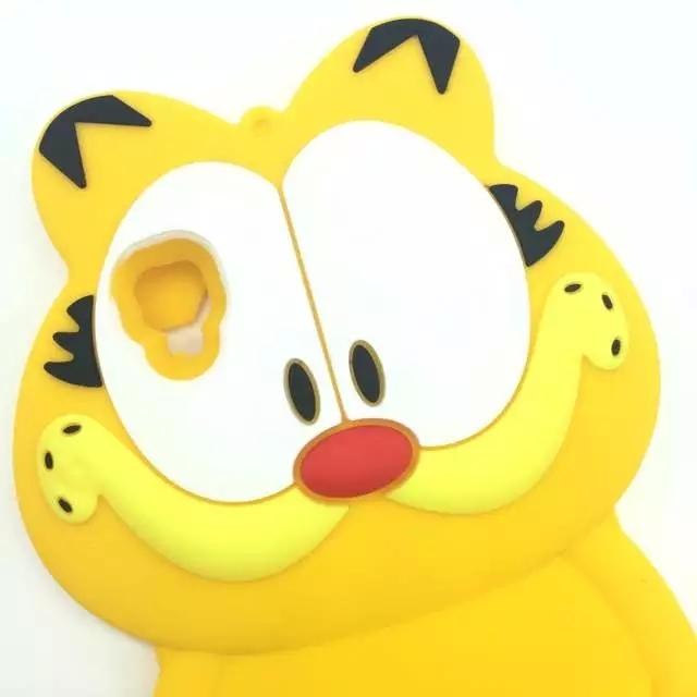oppoa53 a53m日韩卡通加菲猫围巾熊可爱硅胶手机壳