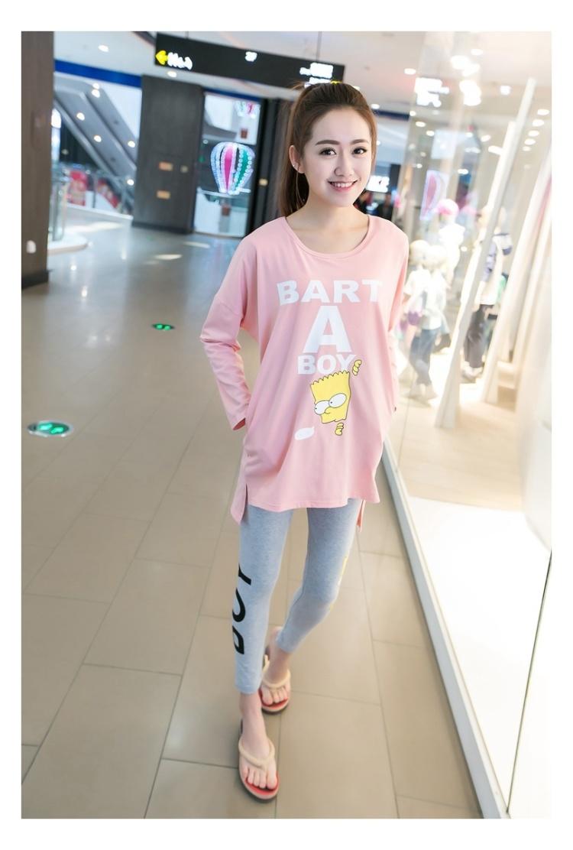 加胸垫【两件套】韩版新款棉质春季睡衣可爱小清新甜美家居服套装