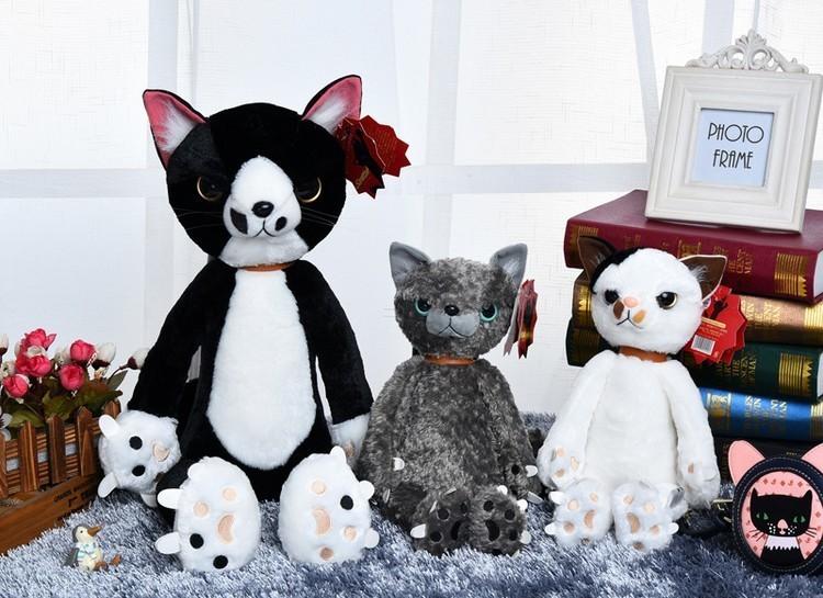 【日本不爽猫公仔~可爱仿真猫咪毛绒玩具】-家居