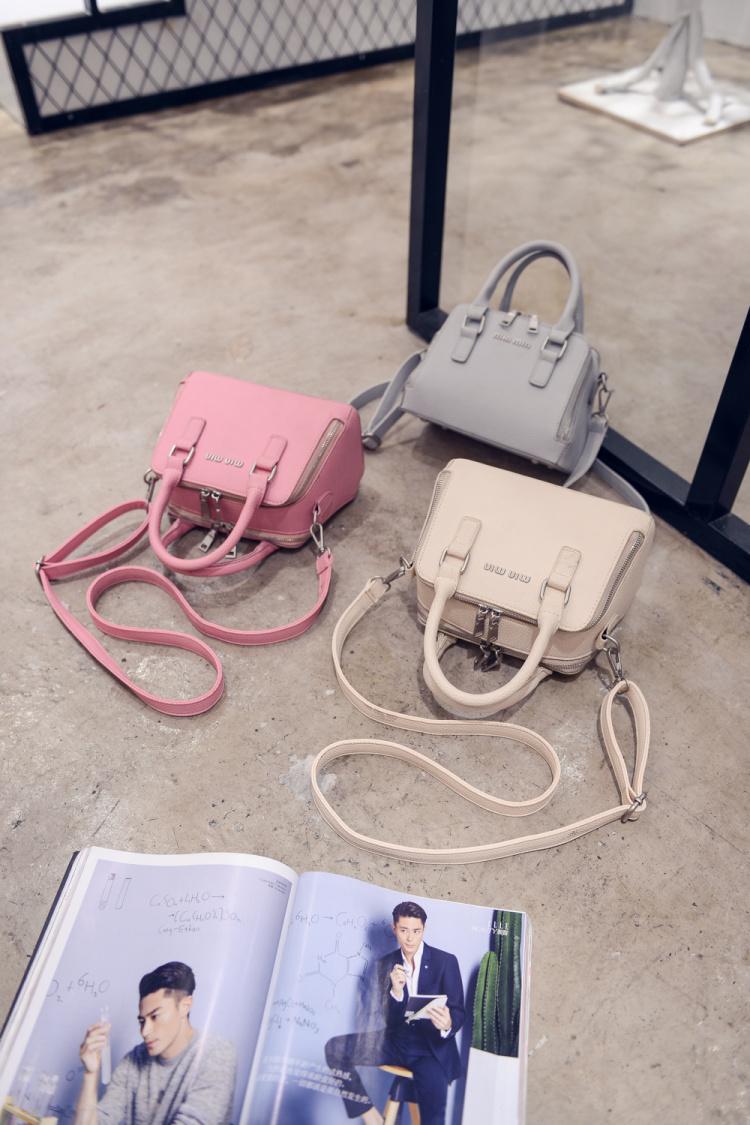 【韩版时尚百搭包包双层手提包】-包包-女包