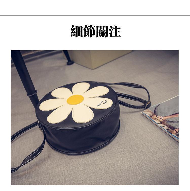 商品描述 甜美的雏菊小花,可爱清新的气息,美美哒~~ 产品参数 包袋