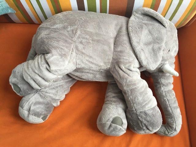 可爱哒~宝宝睡觉抱枕长鼻子大象公仔