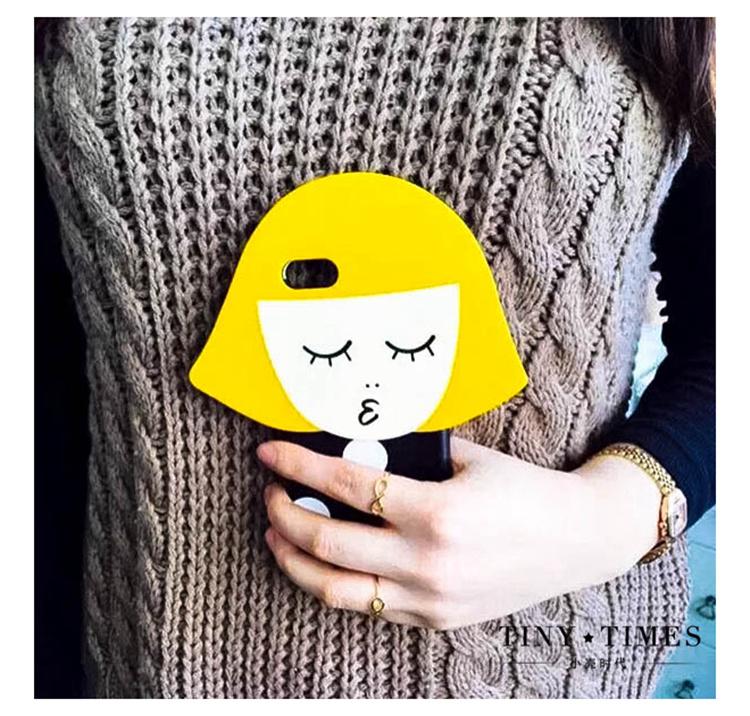 浮夸风 苹果iphone6创意情侣手机壳