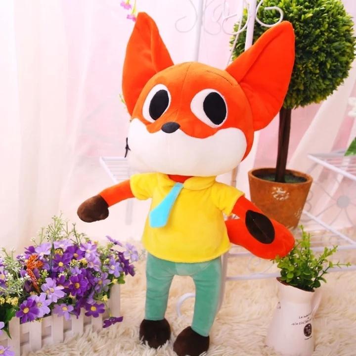 【q办疯狂动物城公仔狐狸尼克疯狂的兔子朱迪毛绒
