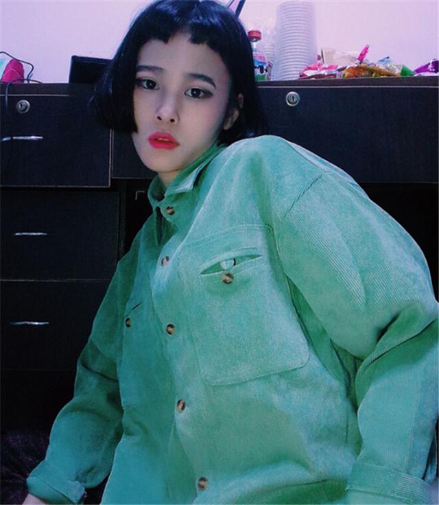 【韩国ulzzang原宿学院风纯色外套女潮】-衣服-服饰