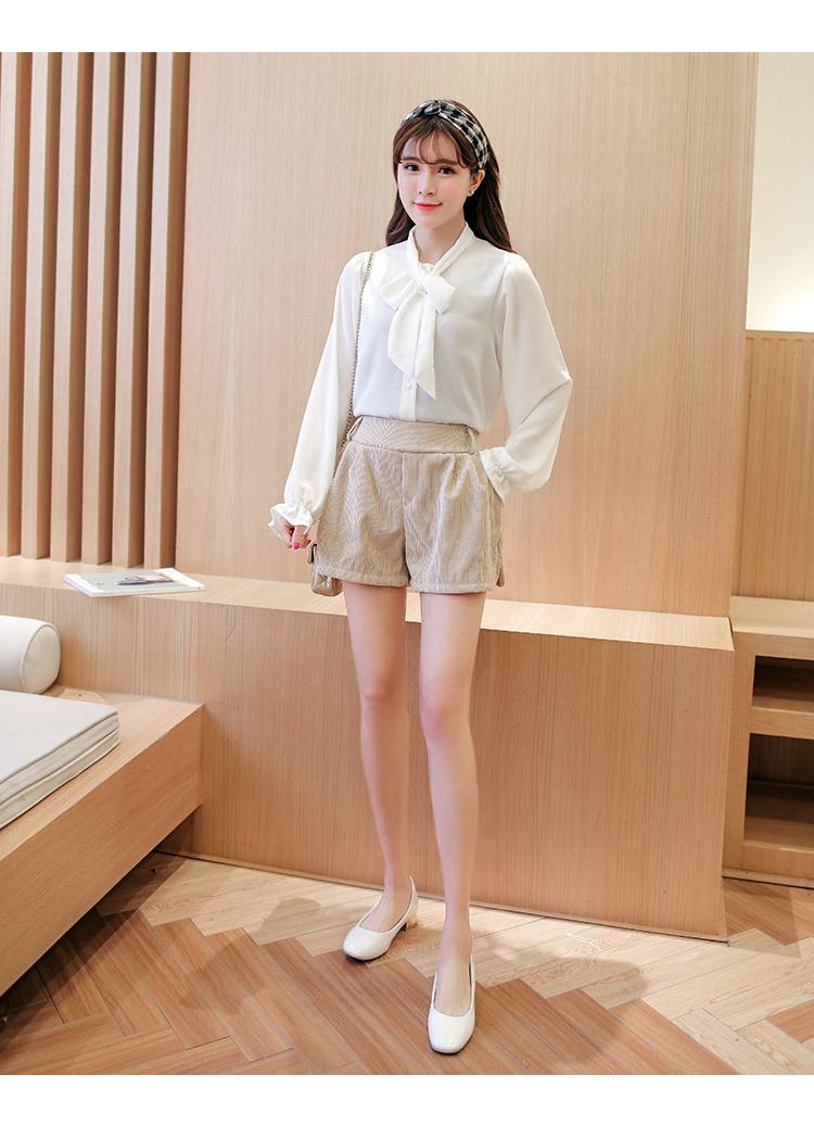 【新款系带蝴蝶结白色衬衣】-衣服-服饰鞋包_女装