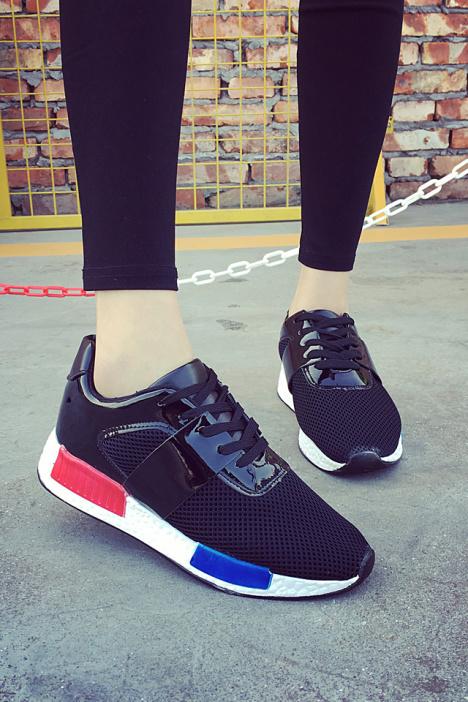 【明星同款nmd网面透气跑步鞋】-鞋子-女鞋