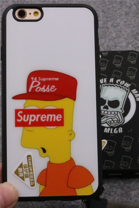 新款mlgb骷髅辛普森 苹果6plus手机壳 6s手机套