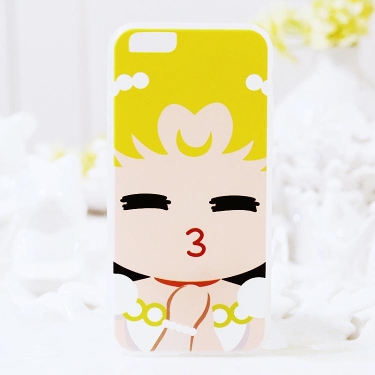 【卡通女孩iphone6s手机壳】-配饰-3c数码配件_苹果套