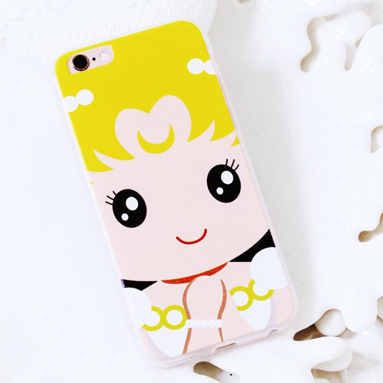 卡通女孩iphone6s手机壳