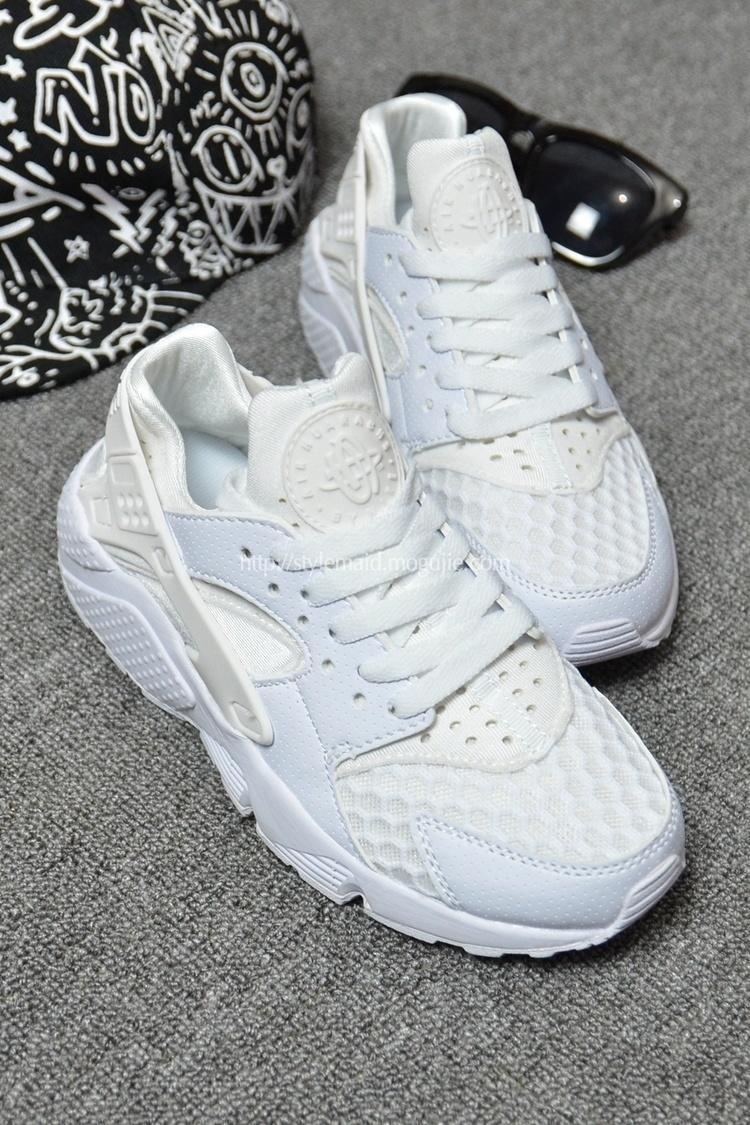 【nike全白华莱士情侣跑步鞋】-鞋子-女鞋_跑步鞋_鞋
